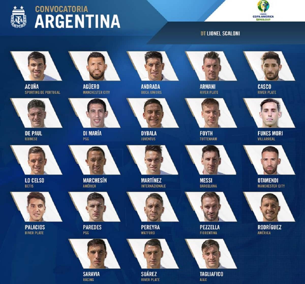 seleccion argentina copa argentina