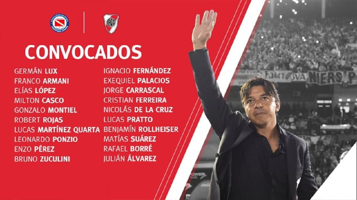 River Plate Argentinos Juniors