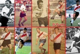 goleadores históricos river plate