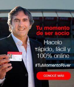 hacete socio de river