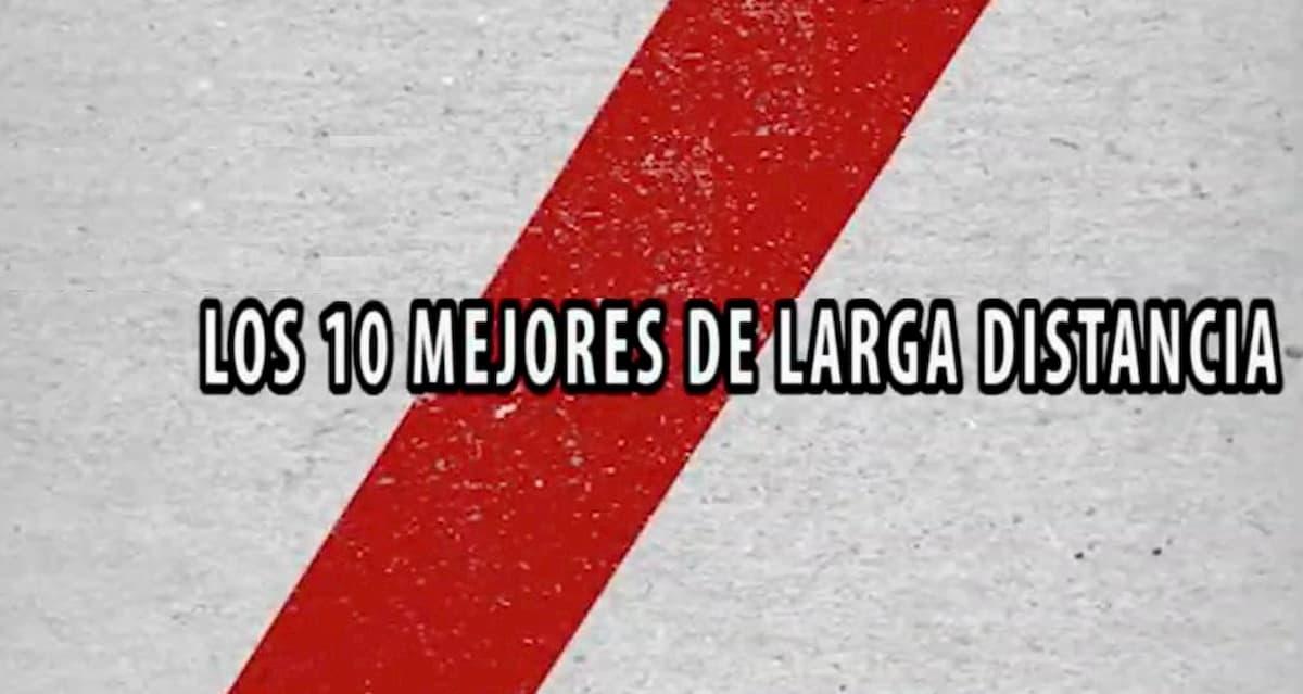10 mejores goles River Plate larga distancia