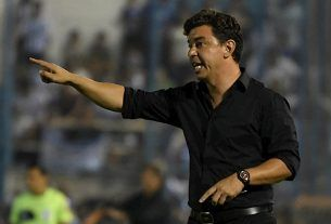 Marcelo Gallardo entrenador del Millonario