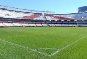 Estadio Monumental vacío