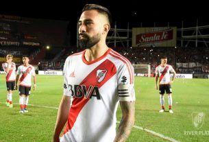 Ariel Rojas con la camiseta de River Plate