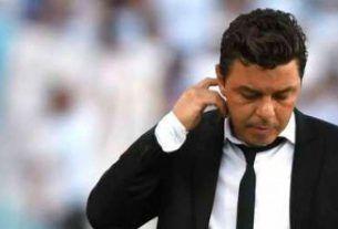 entrenador de River Plate Marcelo Gallardo
