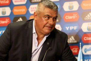 chiqui tapia presidente de la ASociación del Fútbol Argentino