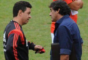 Marcelo Gallardo y Enzo Francescoli