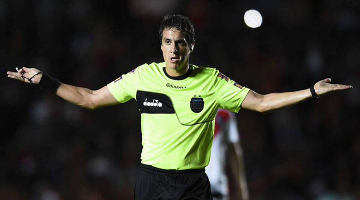 pablo echavarria arbitro fecha 11 lpf newells vs river